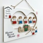 8 Character Family Plaque