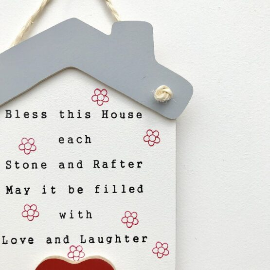 Bless this House Keyholder Close up