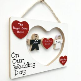 Our Wedding Day Plaque