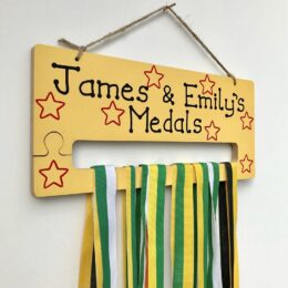 Medal Holder Yellow