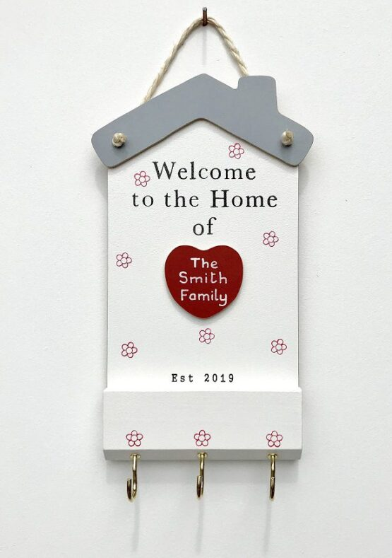 Welcome to the Home Plaque Face on View