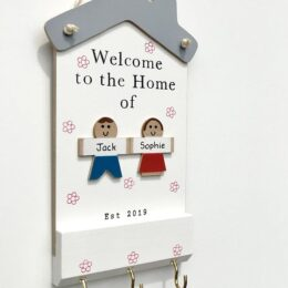 Welcome to the Home Plaque