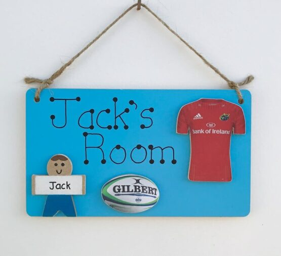 Jersey Room Sign