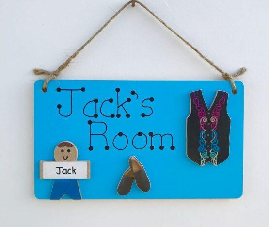 Irish Dancing Room Sign