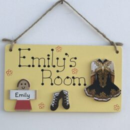 Irish Dancing Room Sign