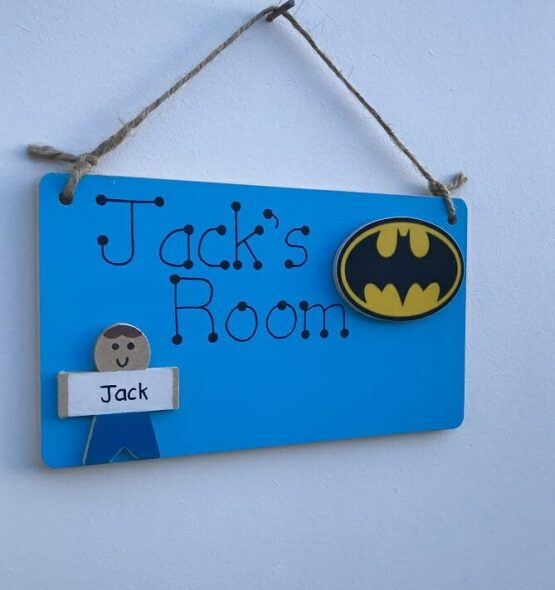 Boy's Room Sign