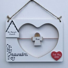 Personalised Communion Plaque