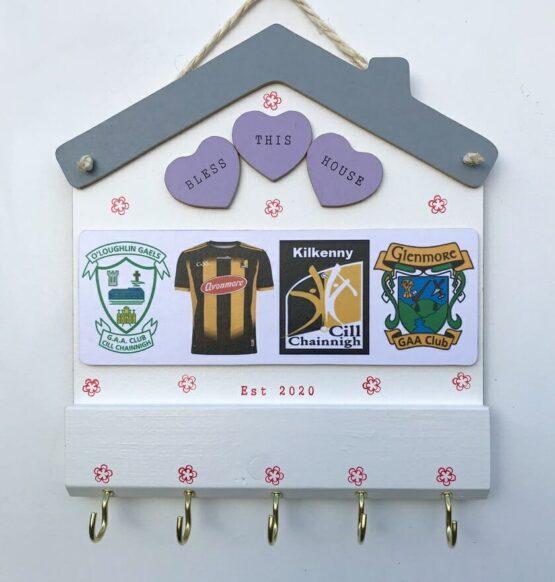 Large Club Crest KeyHolder